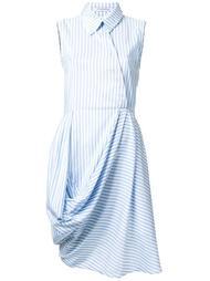 платье-рубашка в полоску  J.W.Anderson