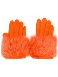 faux fur gloves Paloma Barceló