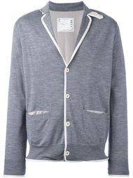 трикотажный пиджак Sacai