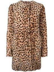 двухстороннее пальто с леопардовым принтом Drome