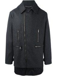 пальто со смещенной застежкой Diesel Black Gold