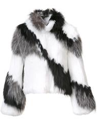 fur jacket Cinq A Sept