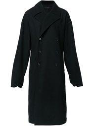 двубортное пальто Dressedundressed