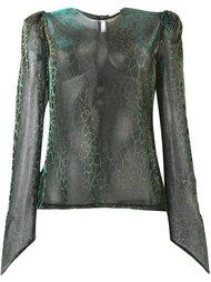 прозрачная блузка  Natasha Zinko