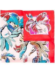шарф с цветочным рисунком Emilio Pucci