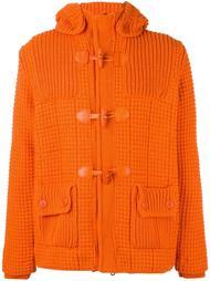 фактурная куртка с капюшоном Bark