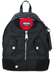 рюкзак в виде куртки-бомбер Moschino