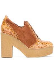 туфли на шнуровке See By Chloé