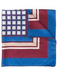 шарф с геометрическим принтом Yves Saint Laurent Vintage