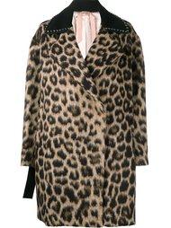 пальто с леопардовым узором Nº21