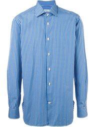 plaid shirt Kiton