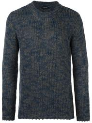 knitted crew neck sweater Roberto Collina