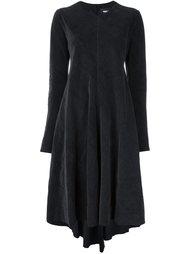 draped midi dress Yang Li