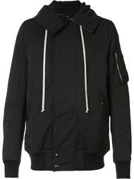 куртка-бомбер с капюшоном Rick Owens DRKSHDW
