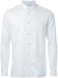 рубашка с воротником-стойкой Factotum