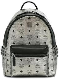 маленький рюкзак с логотипом MCM