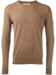 свитер с заплатками на локтях Burberry
