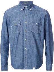 джинсовая рубашка с декоративной строчкой Bedwin & The Heartbreakers