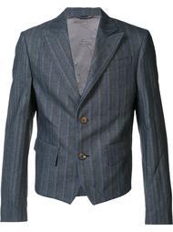 укороченный полосатый пиджак Vivienne Westwood Man