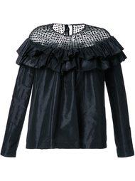 полупрозрачная блузка  Isa Arfen