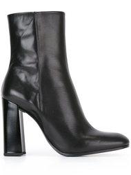 chunky heel ankle boots Jil Sander