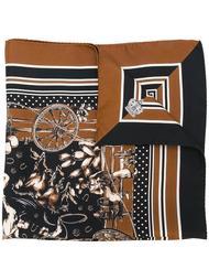 шарф с узором в стиле вестерн Dolce & Gabbana