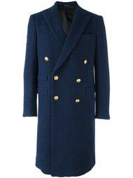 классическое двубортное пальто Andrea Pompilio