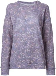 patterned knitted jumper The Elder Statesman