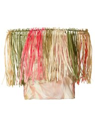fringed top Isabela Capeto