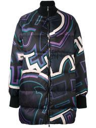 пальто-пуховик на молнии Emilio Pucci