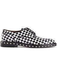 плетёные туфли-дерби с заклёпками Givenchy
