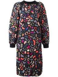 пальто с абстрактным узором Manish Arora