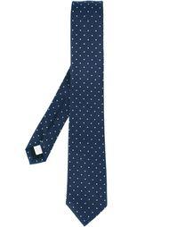 галстук с узором в горох Burberry London