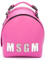 рюкзак с логотипом  MSGM