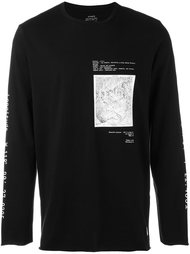 map print longsleeved T-shirt  Stampd