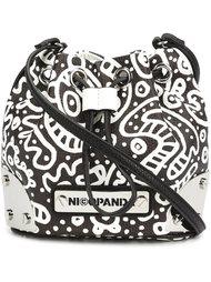 сумка-ведро через плечо 'Mini Me' Nicopanda