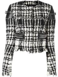 укороченный пиджак букле Alexander Wang