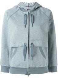 'Ess' zipped hoodie Adidas By Stella Mccartney