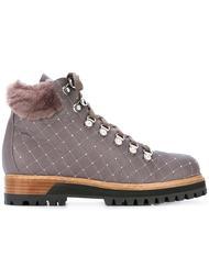 декорированные ботинки на шнуровке Le Silla