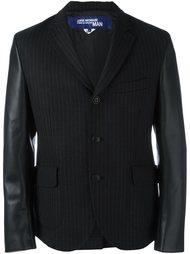 пиджак в полоску с контрастными рукавами Junya Watanabe Comme Des Garçons Man