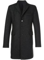 однобортное пальто на пуговицах Harris Wharf London