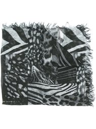 шарф с принтом 'Sanimal' Diesel