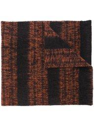 трикотажный шарф в полоску Mp  Massimo Piombo