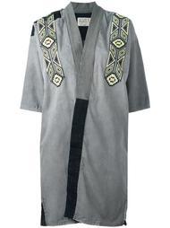 джинсовое кимоно с вышивкой Sandrine Rose