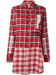 платье-рубашка в клетку Sold Out Frvr