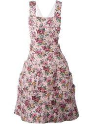 сарафан с цветочным принтом Comme Des Garçons