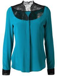 блузка с кружевными вставками Emanuel Ungaro