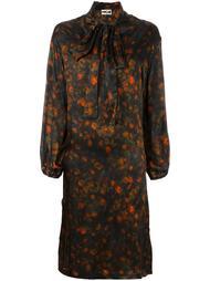 платье с цветочным узором Hache