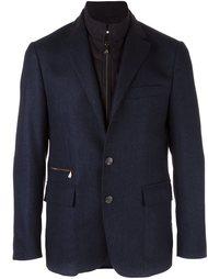 buttoned layered effect blazer Corneliani