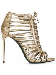 босоножки со шнуровкой Le Silla